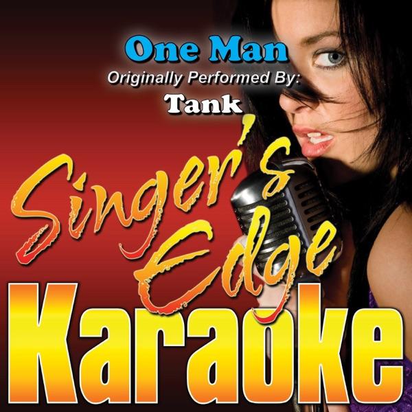 One Man (Originally Performed By Tank) [Karaoke] - Single