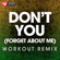 Don't You (Forget About Me) [Extended Workout Remix] - Power Music Workout