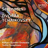 Balkan Chamber Orchestra & Toshio Yanagisawa - Dvořák & Tschaikowsky: Serenaden für Streichorchester artwork