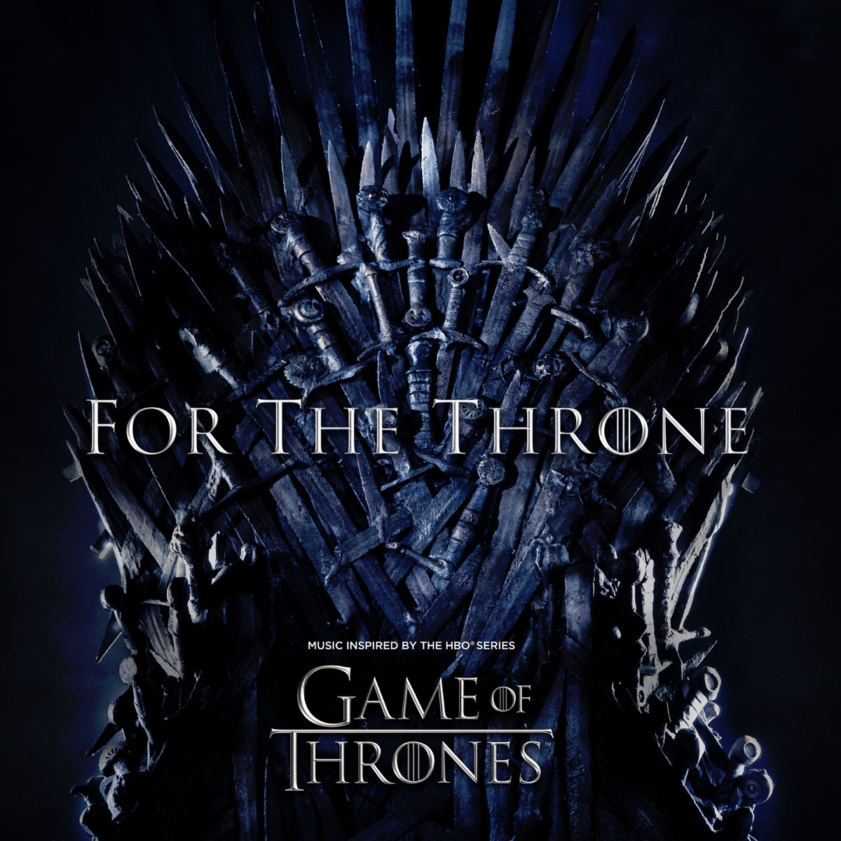 For the Throne Music Inspired by the HBO Series Game of Thrones Various Artists CD cover