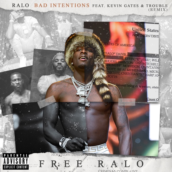 Bad Intentions (Remix) [feat. Kevin Gates & Trouble] - Single