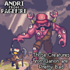 Andri from Pagefire - Those Creatures from Ganon are Pretty Bad artwork