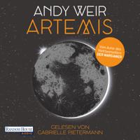Andy Weir - Artemis artwork