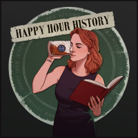 Podcast cover art for Happy Hour History