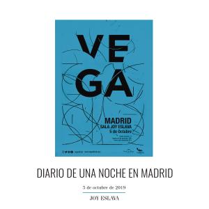 Vega - Diario de una Noche en Madrid (En Directo)