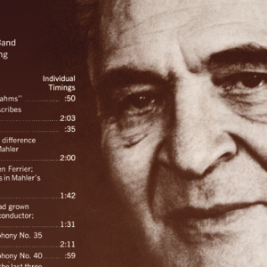 Bruno Walter - Bruno Walter Recollects