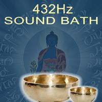 Karunesh - 432Hz Sound Bath (2 Hour Tibetan Singing Bowl Healing Sound Bath - Sound Bath by Karunesh) artwork