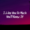 Download lagu I Like You So Much You'll Know It - Ysabella