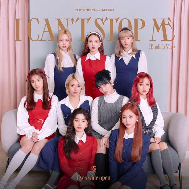 TWICE - I CAN'T STOP ME (English Version)