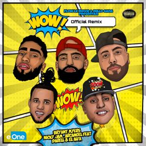 Bryant Myers, Nicky Jam & El Alfa - Wow feat. Arcángel & Darell [Remix]