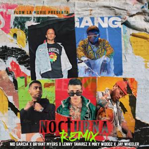 Nio García, Bryant Myers & Lenny Tavarez - Nocturna feat. Miky Woodz & Jay Wheeler [Remix]