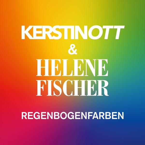 Kerstin Ott & Helene Fischer mit Regenbogenfarben