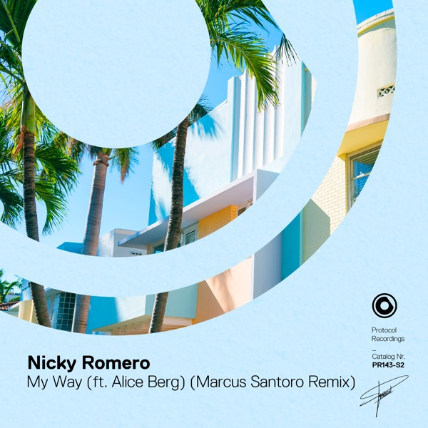 My Way (feat. Alice Berg) [Marcus Santoro Remix] - Single