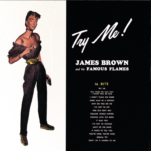 Art for Try Me by James Brown