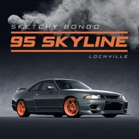Sketchy Bongo - 95 Skyline (feat. Locnville)