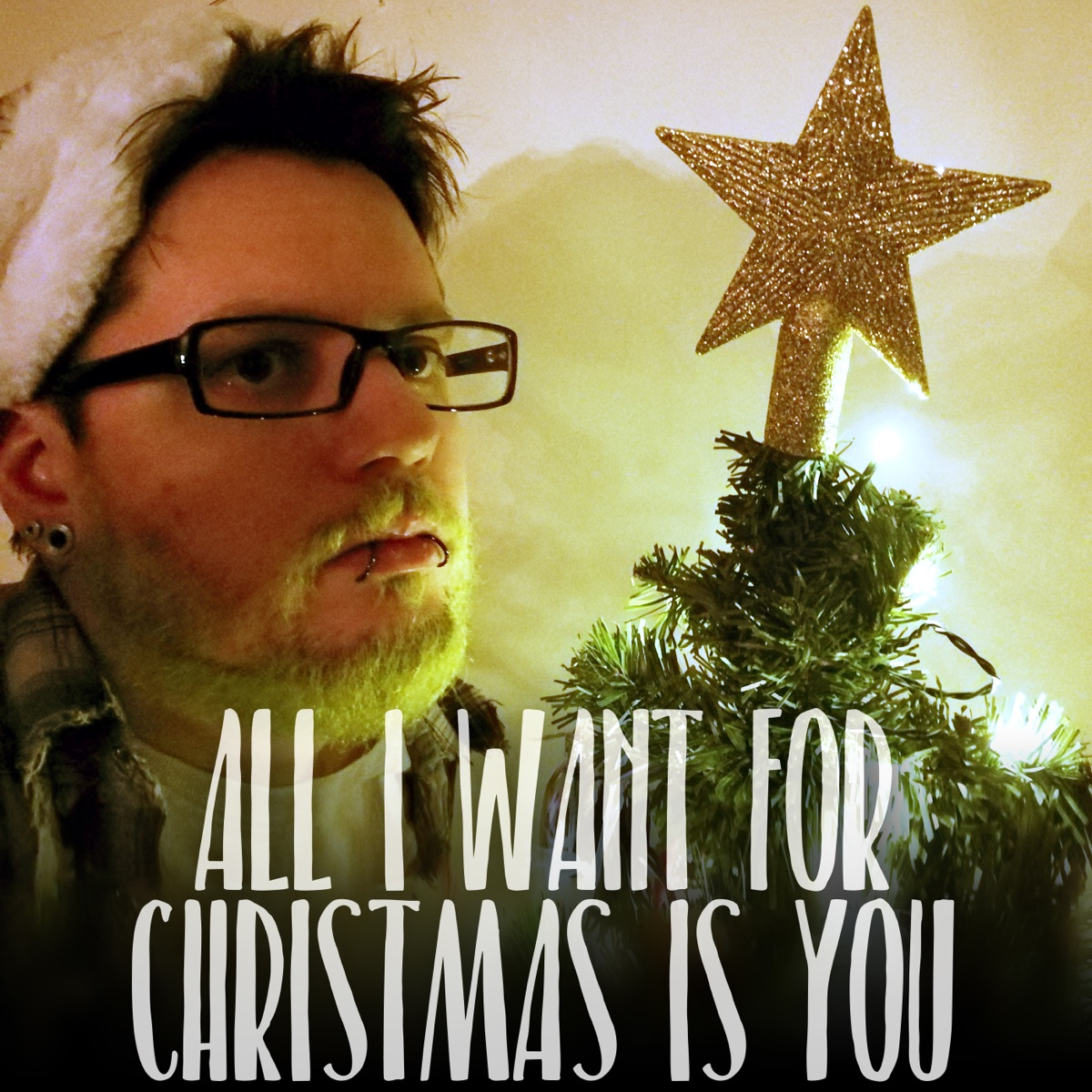 All I Want for Christmas is You Rock Version - Single Jack Muskrat CD cover