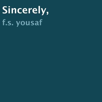 Sincerely, (Unabridged)