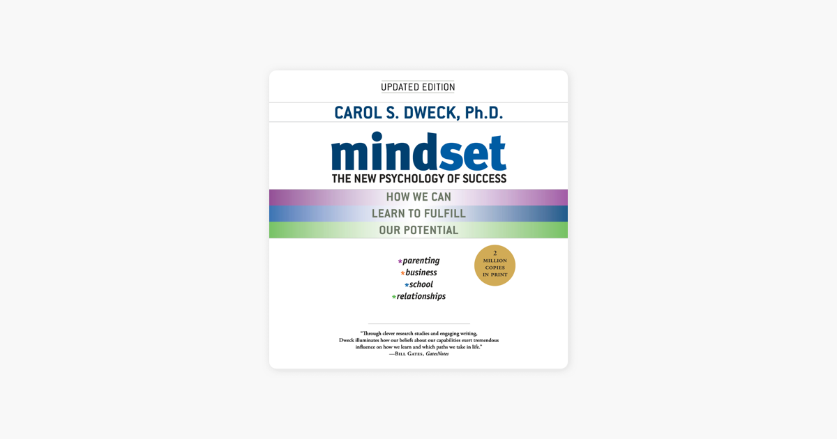 Mindset: The New Psychology of Success (Unabridged) - Carol S. Dweck