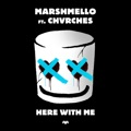 New Zealand Top 10 Dance Songs - Here With Me (feat. CHVRCHES) - Marshmello