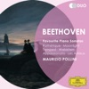 Beethoven: Favourite Piano Sonatas - Pathétique, Moonlight, Tempest, etc ジャケット写真