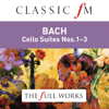 Maurice Gendron - Bach: Cello Suites Nos. 1-3 (Classic FM: The Full Works) artwork