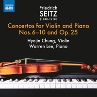 Hyejin Chung & Warren Lee - Seitz: Violin Concertos, Vol. 2 artwork