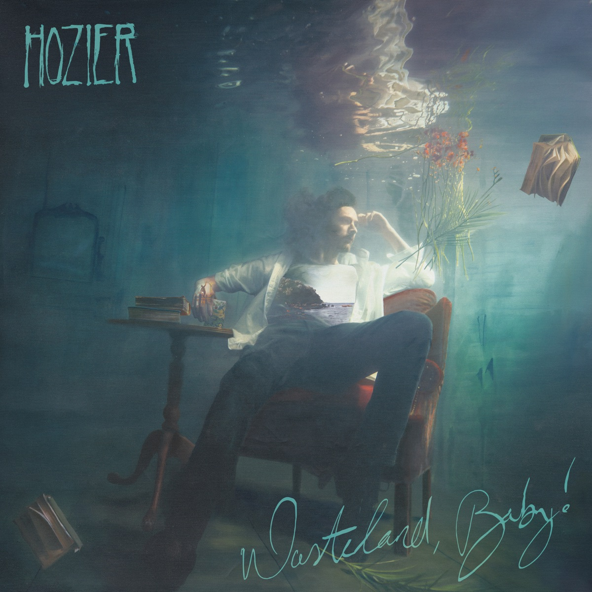 Wasteland Baby Hozier CD cover