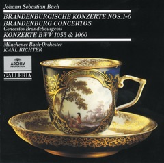 Concerto for Harpsichord, Strings, and Continuo No. 4 in A, BWV 1055: I. (Allegro moderato)