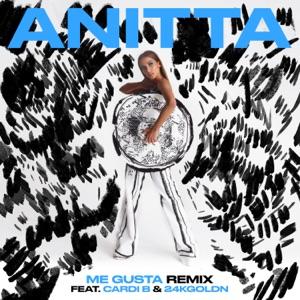 Anitta - Me Gusta (Remix) [feat. Cardi B & 24kGoldn]