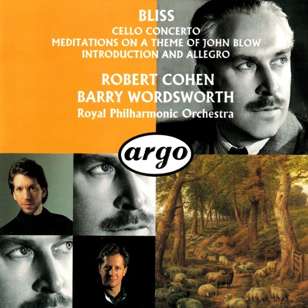 Bliss: Cello Concerto - Meditations on a Theme of John Blow - Introduction and Allegro