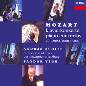 András Schiff, Sándor Végh & Camerata Academica des Mozarteums Salzburg - Mozart: The Piano Concertos