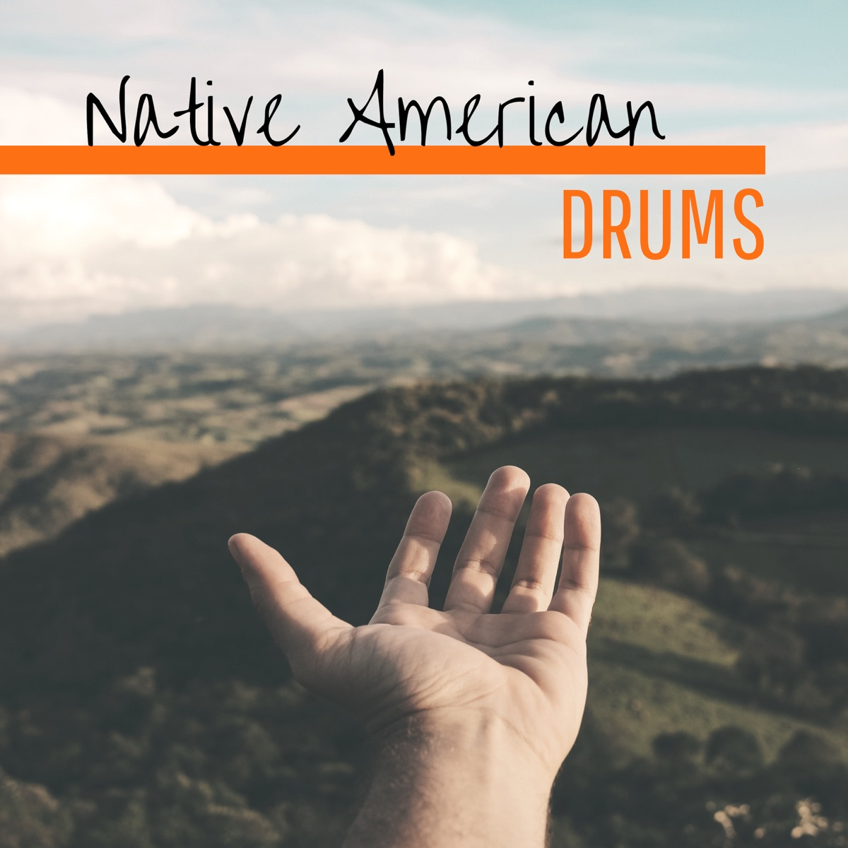 Native American Drums - Constant Drumming for Spiritual Journey