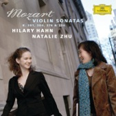 Hilary Hahn and Natalie Zhu - Mozart: Sonata for Piano and Violin in F, K.376 II.Andante