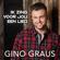 EUROPESE OMROEP | Ik Zing Voor Jou Een Lied - Gino Graus