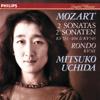 Mitsuko Uchida - Mozart: Piano Sonatas Nos. 15 & 16; Rondo in A Minor  artwork