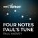 Paul Harvey & BBC Philharmonic Four Notes - Paul's Tune - Paul Harvey & BBC Philharmonic