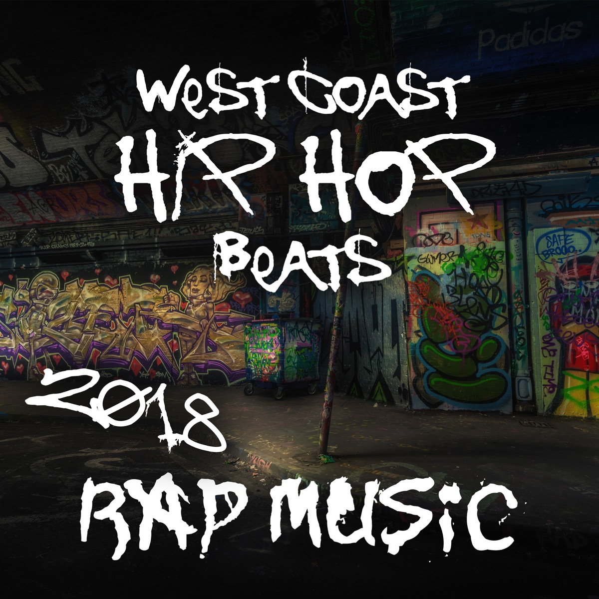 West Coast Hip Hop Beats: 2018 Rap Music, Freestyle Beats, Dirty