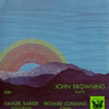 Barber: Piano Sonata, Op. 26 - Cumming: 24 Preludes