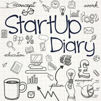 Podcast cover art for StartUp Diary