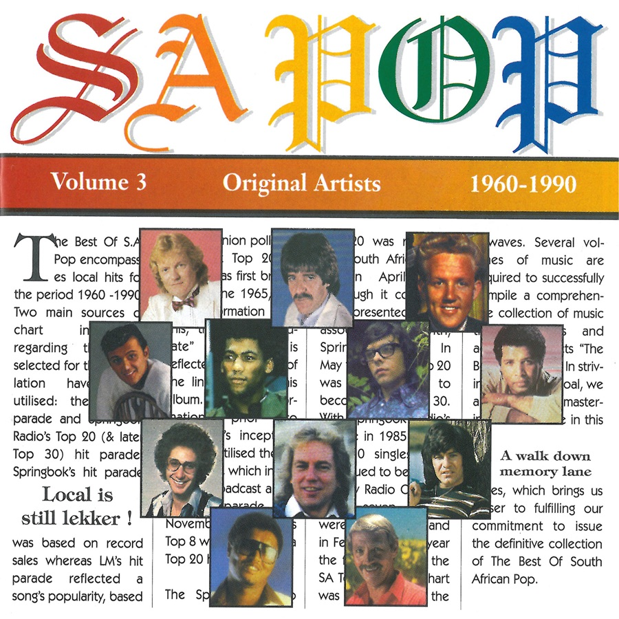 Various Artists - The Best of S.A. Pop (1960-1990), Vol. 2