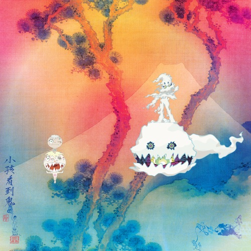 KIDS SEE GHOSTS - Feel the Love (feat. Pusha T)
