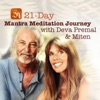 21-Day Mantra Meditation Journey with Deva Premal & Miten ジャケット写真