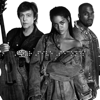 Rihanna and Kanye West and Paul McCartney - FourFiveSeconds artwork