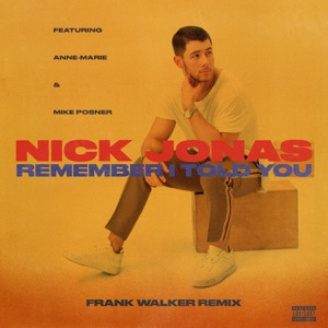 Remember I Told You (feat. Anne-Marie & Mike Posner) [Frank Walker Remix] - Single Mp3 Download