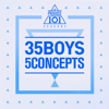 Produce 101 - 35 Boys 5 Concepts - EP - Various Artists