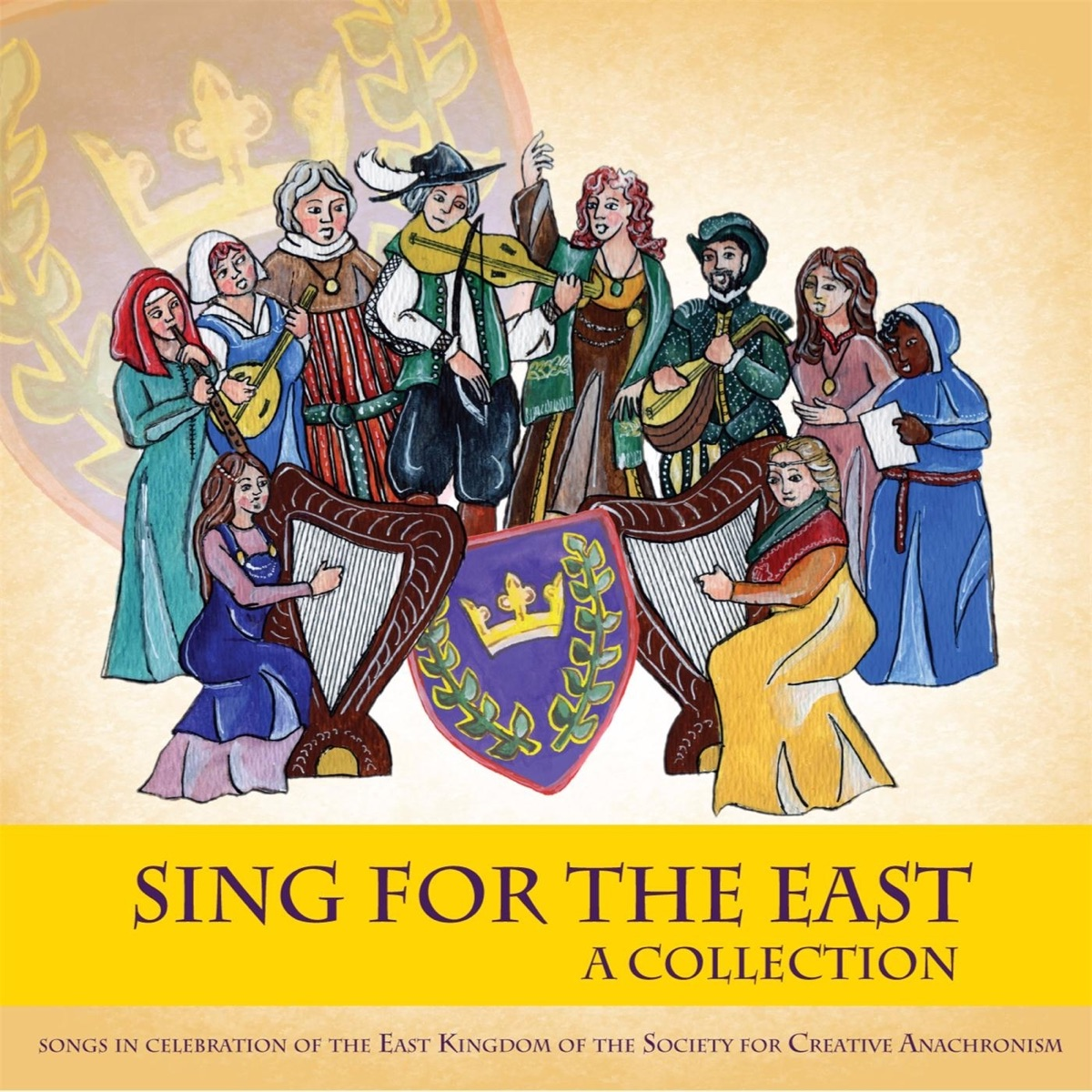 Sing for the East Various Artists CD cover