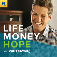 Podcast cover art for Life, Money and Hope with Chris Brown