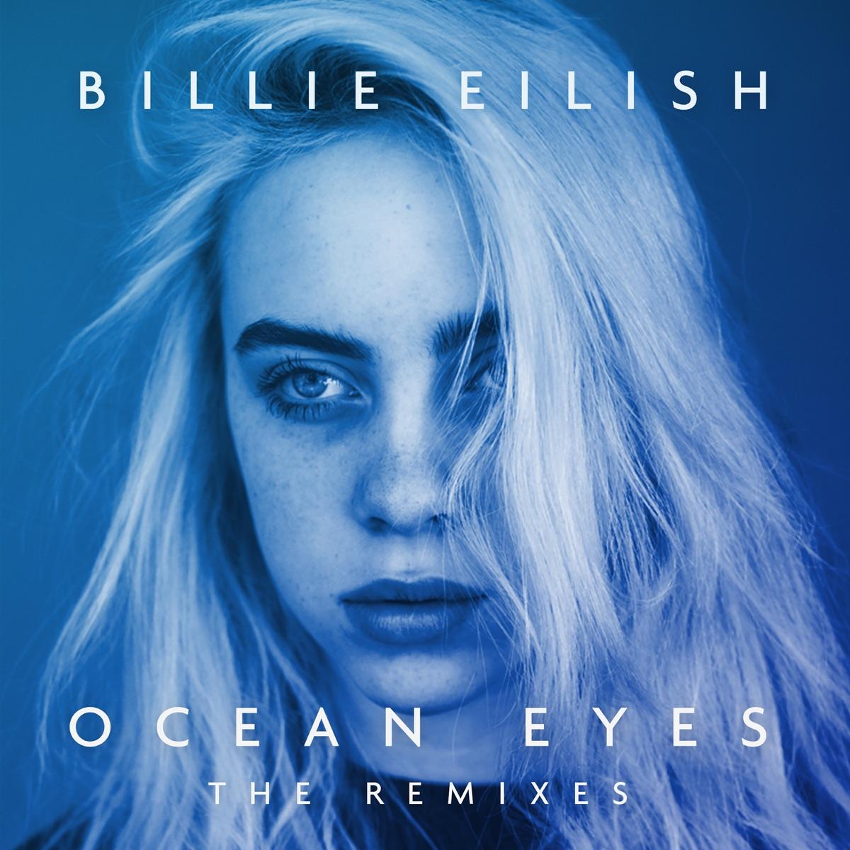 Ocean Eyes The Remixes - EP Billie Eilish CD cover