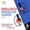 Lingo Jump - Englisch Parallel Audio - Einfach Englisch Lernen mit 501 Sätzen in Parallel Audio - Teil 2 [English Parallel Audio - Easy English Learning with 501 sentences in Parallel Audio - Part 2] (Unabridged) artwork