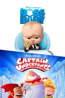 Universal Studios Home Entertainment - Boss Baby & Captain Underpants artwork